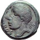Photo numismatique  ARCHIVES VENTE 2014 -Coll J P Dixméras GAULE - CELTES LEXOVII (région de Lisieux)  83- Semis de Cisiambos, classe II.