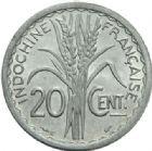 Photo numismatique  MONNAIES MONNAIES DU MONDE INDOCHINE Gouvernement Provisoire (1944-1947) 20 centimes de 1945.