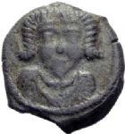 Photo numismatique  ARCHIVES VENTE 2014 -Coll J P Dixméras GAULE - CELTES LEXOVII (région de Lisieux)  81- Bronze dérivé (vers 60 à 30/25 avant J.C).
