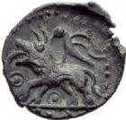 Photo numismatique  ARCHIVES VENTE 2014 -Coll J P Dixméras IBERIE- GAULE - CELTES CARNUTES-TURONES (Région de Chartres-Tours)  60- Bronze.