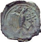 Photo numismatique  ARCHIVES VENTE 2014 -Coll J P Dixméras IBERIE- GAULE - CELTES CARNUTES-TURONES (Région de Chartres-Tours)  58- Bronze.