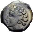 Photo numismatique  ARCHIVES VENTE 2014 -Coll J P Dixméras GAULE - CELTES ARVERNES (région de l'Auvergne)  57- Bronze d'Adcanaunos.