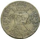 Photo numismatique  MONNAIES MONNAIES DU MONDE IRLANDE JAMES II (1685-1688) Demi couronne de mars 1690.