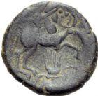 Photo numismatique  ARCHIVES VENTE 2014 -Coll J P Dixméras GAULE - CELTES PICTONES-SANTONES (Poitou-Charentes)  49- Statère de bronze ou or très bas.