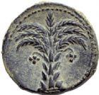Photo numismatique  ARCHIVES VENTE 2014 -Coll J P Dixméras MONNAIES IBÉRIQUES CARTHAGO NOVA. (Carthagène, Murcie)  33- Bronze, (vers 230-228) et 1/4 de chalque punique.