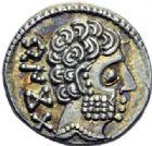 Photo numismatique  ARCHIVES VENTE 2014 -Coll J P Dixméras MONNAIES IBÉRIQUES BASCUNES. (Vascones, Navarre)  31- Denier. 31- Denier.