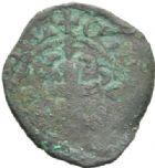 Photo numismatique  MONNAIES MONNAIES DU MONDE ITALIE ATRI - JEANNE D'ANJOU, reine de Naples (1343-1349) Double denier tournois.