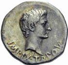 Photo numismatique  ARCHIVES VENTE 2014 -Coll J P Dixméras EMPIRE ROMAIN OCTAVE-AUGUSTE. (Empereur en 29 - Auguste 27 av.-14 ap. JC)  7- Cistophore, Pergame (Mysie).