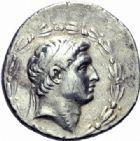 Photo numismatique  ARCHIVES VENTE 2014 -Coll J P Dixméras GRÈCE ANTIQUE ASIE MINEURE. Rois de SYRIE Démétrius Ier Soter (162-150) 5- Tétradrachme.