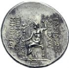 Photo numismatique  ARCHIVES VENTE 2014 -Coll J P Dixméras GRÈCE ANTIQUE ASIE MINEURE. Rois de SYRIE Antiochus IV Epiphanes (175-164) 4- Tétradrachme.