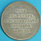 Photo numismatique  MONNAIES MONNAIES DU MONDE ITALIE République CISALPINE (1800-1802) 30 soldi de l'an IX, frappé à Milan.