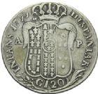 Photo numismatique  MONNAIES MONNAIES DU MONDE ITALIE NAPLES et DEUX-SICILES, Ferdinand IV (1759-1816) 120 grana de 1799.