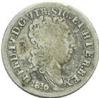 Photo numismatique  MONNAIES MONNAIES DU MONDE ITALIE NAPLES et DEUX-SICILES, Ferdinand IV (1759-1816) 10 grana de 1816.
