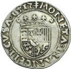 Photo numismatique  MONNAIES BARONNIALES Duché de LORRAINE ANTOINE (1508-1544) Demi-teston, Nancy 1517.