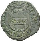 Photo numismatique  MONNAIES MONNAIES DU MONDE ITALIE NAPLES, Henri II de Guise (1614-1664) 3 tornesi de la République Napolitaine, 1648.