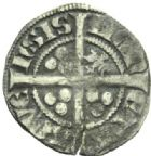 Photo numismatique  MONNAIES MONNAIES DU MONDE ALLEMAGNE SAINT-EMPIRE, Louis IV de Bavière (1314-1347) Esterlin, Aix La Chapelle.
