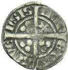 Photo numismatique  MONNAIES MONNAIES DU MONDE ALLEMAGNE SAINT-EMPIRE, Louis IV de Bavière (1314-1347) Esterlin, Aix La Chapelle.