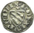 Photo numismatique  MONNAIES BARONNIALES Duché de BOURGOGNE ROBERT II (1272-1306) Denier, Dijon.