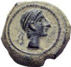 Photo numismatique  MONNAIES MONNAIES IBÉRIQUES CASTULO. (Jaen)  Quadrans, 4e émission.