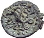 Photo numismatique  MONNAIES GAULE - CELTES SENONES (région de Sens)  Bronze.
