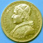 Photo numismatique  MONNAIES MONNAIES DU MONDE ITALIE SAINT-SIEGE, Grégoire XVI (1831-1846) 10 scudi 1835 (an V) en or, frappé à Rome.