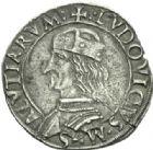 Photo numismatique  MONNAIES MONNAIES DU MONDE ITALIE CARMAGNOLE, Louis II de Saluzzo (1475-1504) Cavallotto.