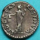 Photo numismatique MONNAIES EMPIRE ROMAIN VITELLIUS (69) Denier.