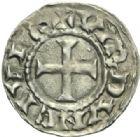 Photo numismatique  MONNAIES CAROLINGIENS CHARLES LE SIMPLE (28 janvier 893-destitué en 923)  Denier.