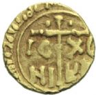 Photo numismatique  MONNAIES MONNAIES DU MONDE ITALIE NORMANDS DE SICILE, Guillaume II (1166-1189) Tari d'or.