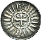 Photo numismatique  MONNAIES MONNAIES DU MONDE ALLEMAGNE MAGDEBOURG, époque d e OTTON III (983-1002) Denier avec l'évêque Giselher (981-1004).