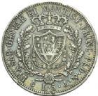 Photo numismatique  MONNAIES MONNAIES DU MONDE ITALIE SAVOIE-SARDAIGNE, Charles Félix (1821-1831) 5 lire de 1826.