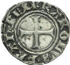 Photo numismatique  MONNAIES BARONNIALES Dauphins du VIENNOIS CHARLES VII dauphin et roi (1422-1440) Liard, Crémieu.