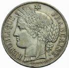 Photo numismatique  MONNAIES MODERNES FRANÇAISES GOUVERNEMENT de DEFENSE NATIONALE (4 septembre 1870-1871)  5 francs, Paris 1870.