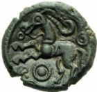 Photo numismatique  MONNAIES IBERIE- GAULE - CELTES AMBIANI (Bassin de la Somme)  Bronze.
