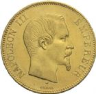MODERNES FRAN�AISESNAPOLEON III, empereur (2 d�cembre 1852-1er septembre 1870)100 francs or, Paris 1856.