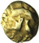 Photo numismatique  MONNAIES GAULE - CELTES AMBIANI (Bassin de la Somme)  Quart de Statère.