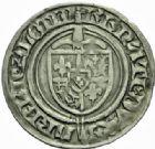 Photo numismatique  MONNAIES BARONNIALES Duché de LORRAINE RENE Ier (1419-1480) Gros, Nancy.