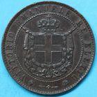 Photo numismatique  MONNAIES MONNAIES DU MONDE ITALIE SAVOIE-SARDAIGNE, Victor Emmanuel II, roi élu (1849-1861) 5 centesimi de 1859.