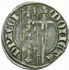 Photo numismatique  MONNAIES BARONNIALES Duché de LORRAINE FERRI IV (1312-1329) Spadin, Nancy.