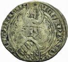 Photo numismatique  MONNAIES BARONNIALES Duché de BRETAGNE JEAN IV (1345-1399) Gros à l'écu heaumé, Rennes.
