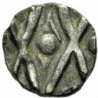 Photo numismatique  MONNAIES PEUPLES BARBARES MEROVINGIENS CITES GAULE du NORD Denier, VIIIème siècle.