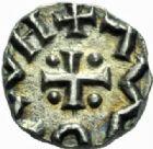 Photo numismatique  MONNAIES PEUPLES BARBARES ANGLO-SAXONS  Sceat, VIIIème siècle.
