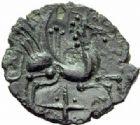 Photo numismatique  MONNAIES GAULE - CELTES CARNUTES-TURONES (Région de Chartres-Tours)  Bronze.