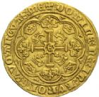 Photo numismatique  MONNAIES MONNAIES DU MONDE ANGLETERRE EDOUARD III (1327-1377) 1/2 noble, Londres 1361/1369.