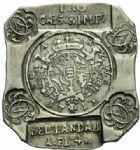 Photo numismatique  MONNAIES MONNAIES OBSIDIONALES LOUIS XIV (14 mai 1643-1er septembre 1715) LANDAU (Alsace), siège de 1713 1 florin et 4 kreuzer.