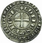 Photo numismatique  MONNAIES BARONNIALES Comtat VENAISSIN CLEMENT VI (1342-1352) Gros, Pont-de-Sorgues.