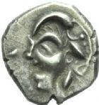 Photo numismatique  MONNAIES GAULE - CELTES VOLQUES TECTOSAGES (région de Toulouse)  Drachme de la zone orientale.