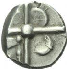 Photo numismatique  MONNAIES GAULE - CELTES SOTIATES (Région de Sos)  Drachme à la fleur.