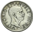 Photo numismatique  MONNAIES MONNAIES DU MONDE ITALIE SAVOIE-SARDAIGNE, Victor Emmanuel III (1900-1943) 20 lire de 1927.