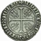 Photo numismatique  MONNAIES BARONNIALES Duché de LORRAINE JEAN Ier (1346-1389) Gros au duc debout,  Nancy.